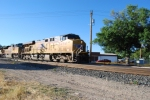 UP 5494 Heads to SLC on a hot intermodal train